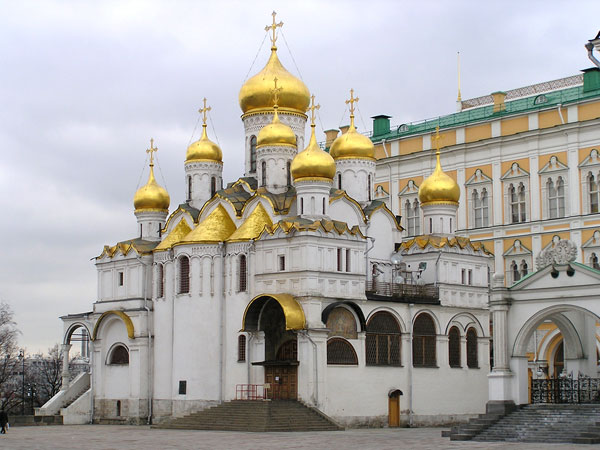 Cathedral of the Annunciation of the Holy Virgin, Moscow Kremlin