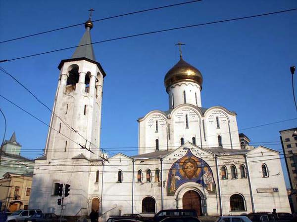 Church of Saint Nicholas at Tverskaya Zastava, Moscow