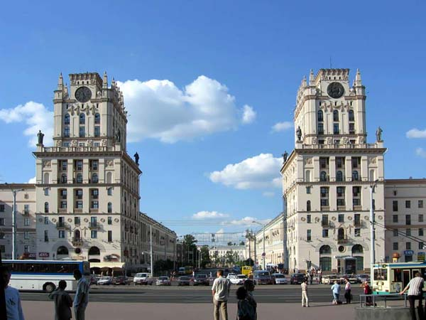 City Gate Towers in Minsk