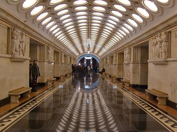Moscow Metro Station Elektrozavodskaya