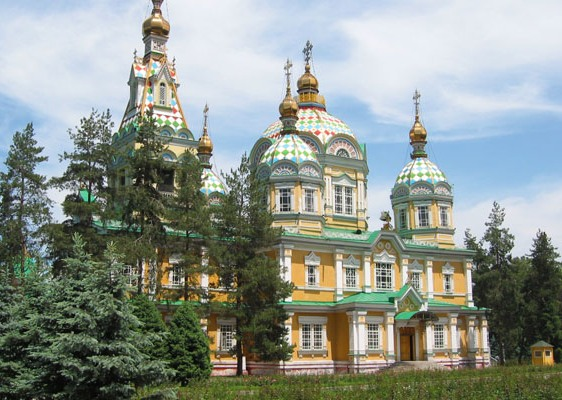 Saint Ascension Cathedral, Almaty