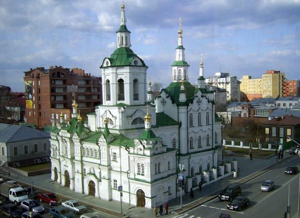 Saviour Church, Tyumen