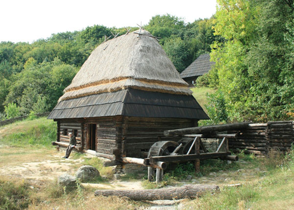Ukrainian water mill