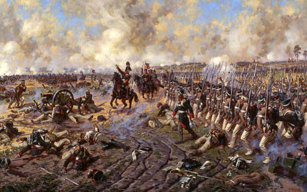 Battle of Borodino Museum Panorama painting
