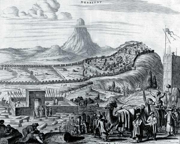 ancient citadel of Derbent