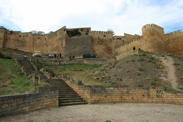 Derbent Fortress wall