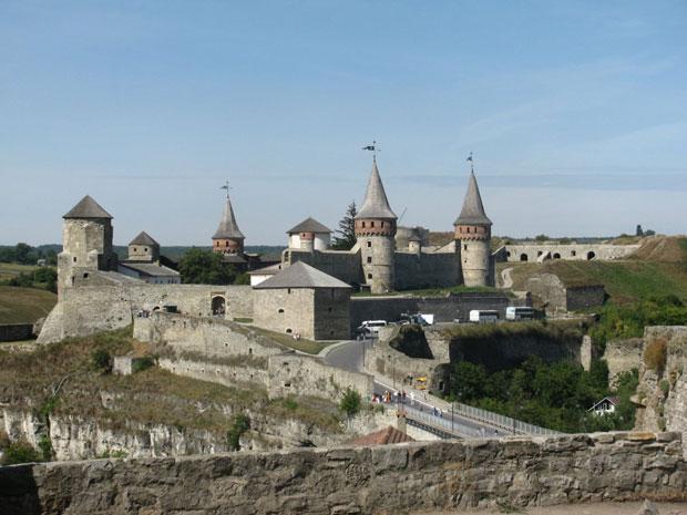 Kamyanets Podilsky Castle
