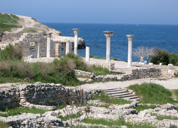 Ancient Greek ruins of Khersones, Sevastopol