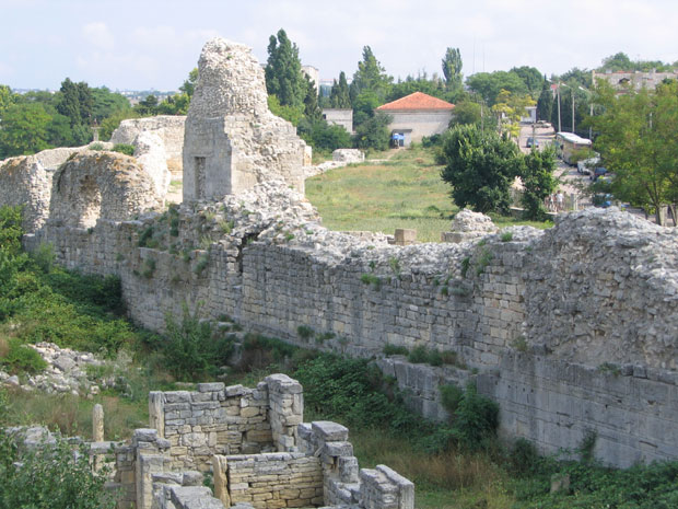 Byzantine ruins of Khersones