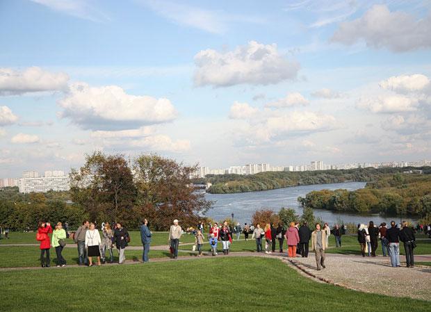 Kolomenskoye and Moscow River