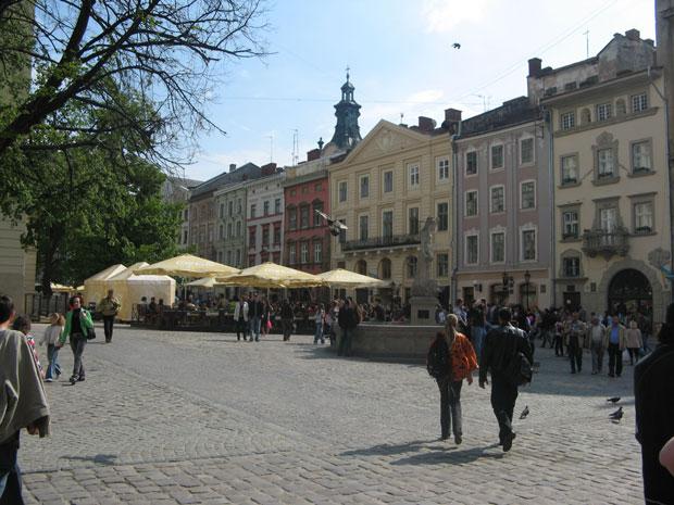 Market Square, Lviv Old Town