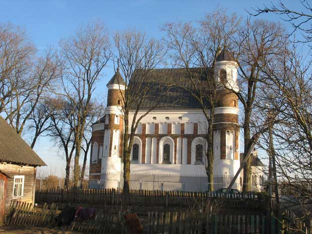 Nativity of Virgin Mary Church in Muravanka, Belarus