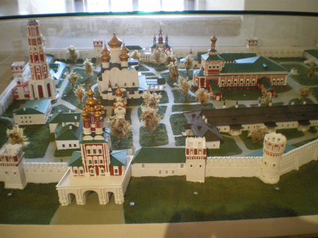 model of Novodevichy Convent