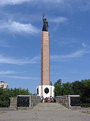 Chekist Monumnet on Chekist Square, Volgograd