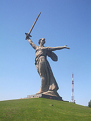 Motherland Statue on Mamayev Kurgan, Volgograd