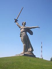 Motherland Statue on Mamayev Kurgan, Volgograd