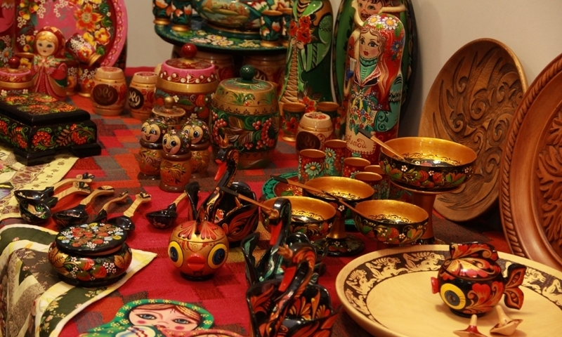 Russian Handicraft Folk Art From Russia