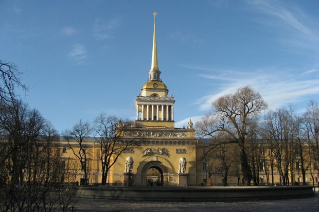 Admiralty building, St. Petersburg