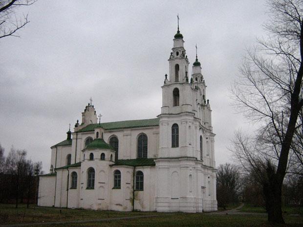 Saint Sophia Cathedral in Polatsk, Belarus