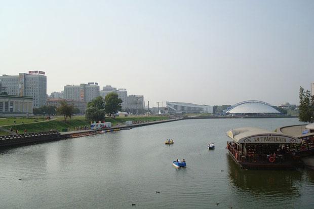 Svisloch River, Minsk