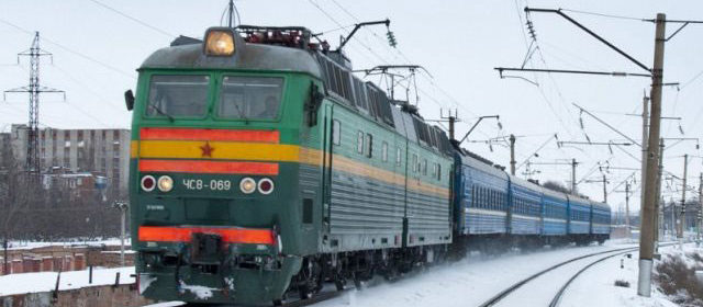 Trains in Russia and Ukraine