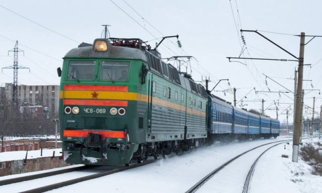 trains in Russia