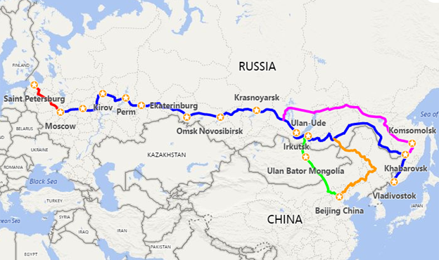 Trans Siberian Travel Planner | Trip Itinerary on northern europe map, bosnia map, south america map, baikal amur mainline, wales map, st thomas map, arctic ocean map, trans-siberian railway panorama, west siberian railway, brazil map, republic of georgia map, india map, orient express, cyprus map, central asia map, south africa map, central europe map, saint petersburg, ural mountains map, west africa map, greenland map, moscow map, caribbean cruise map, caucasus mountains map, russia map,