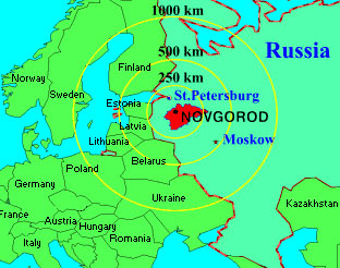 Novgorod Russia Map.Russian Historical Sites Heritage Sites Of Russia