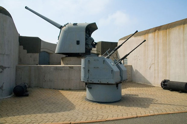 Vladivostok Fortress battery
