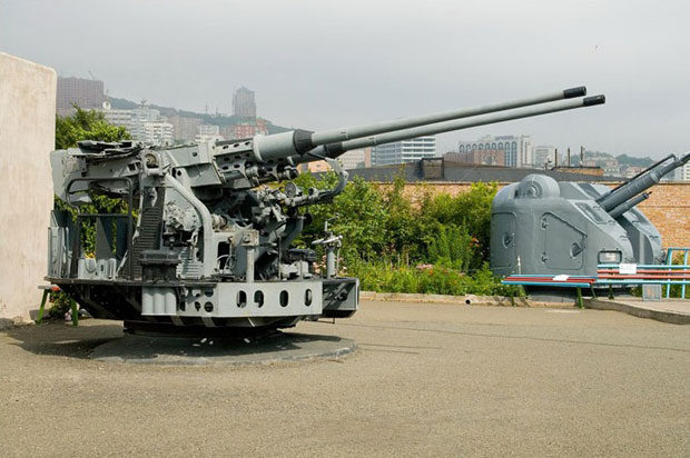 Vladivostok Fortress guns