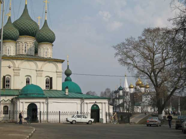 Yaroslavl historical center
