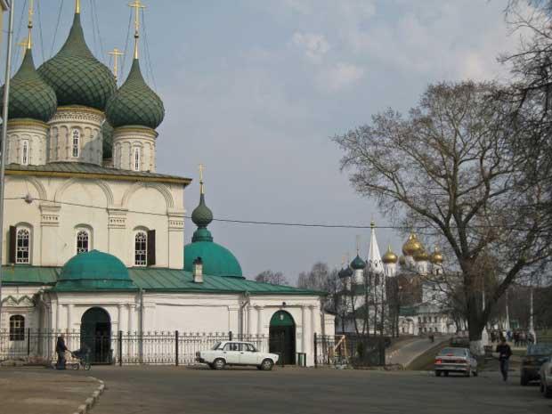 Yaroslavl historical center