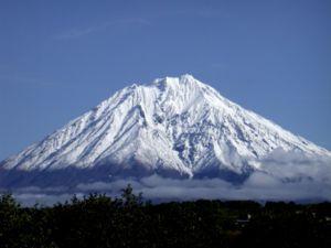 Kamchatka volcano