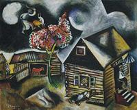 Marc Chagall - Rain