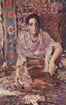Mikhail Vrubel - Fortune Teller