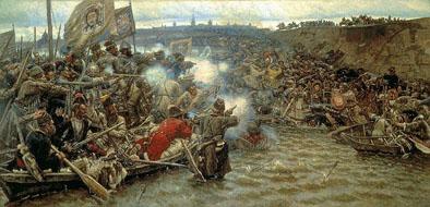Vasily Surikov - Conquest of Siberia by Yermak
