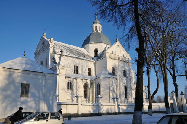 Corpus Christi Church in Nesvizh