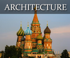 architecture in Russia and Ukraine
