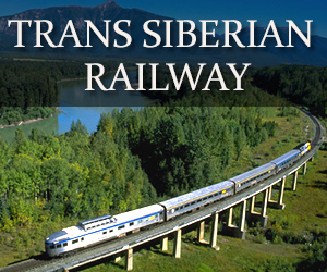 travel on the Trans Siberian Railroad