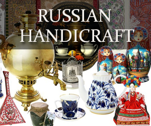 handicraft and fold art from Russia