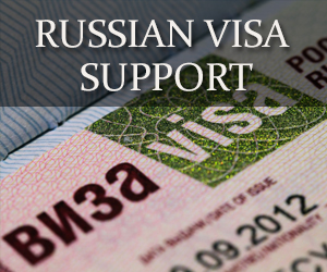 visa support for Russia