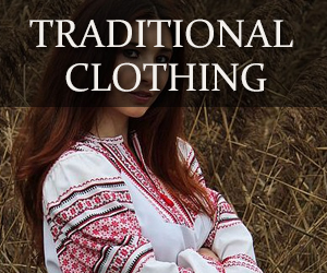 traditional Russian and Ukrainian clothing